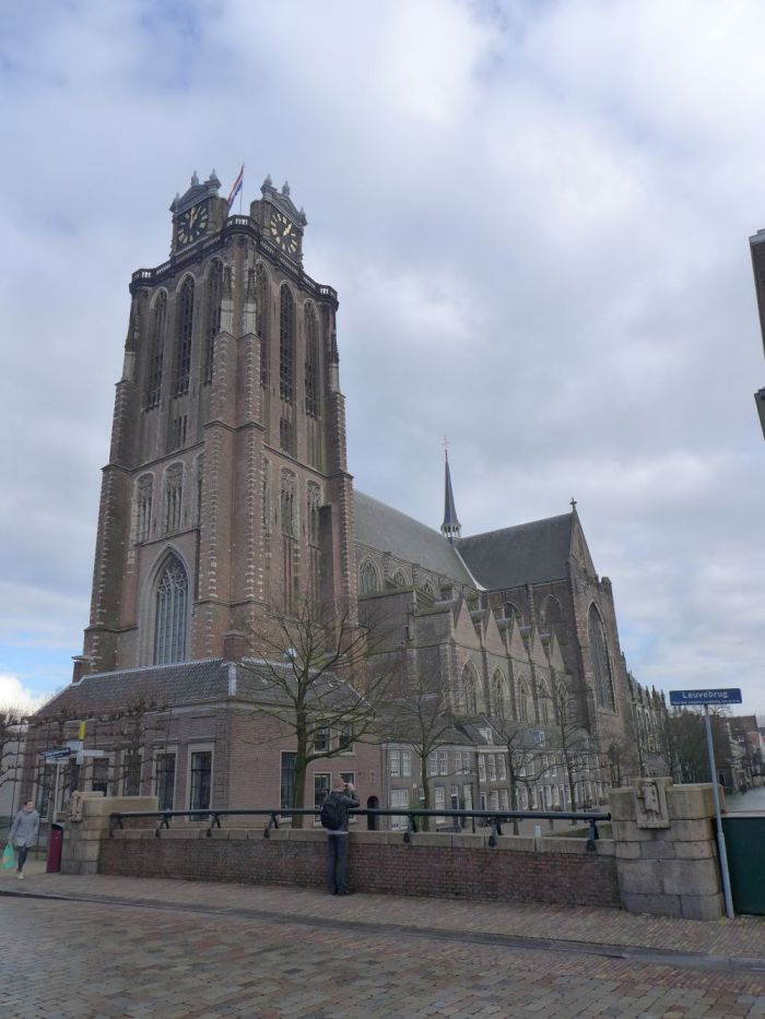 Die Große Kirche in Dordrecht