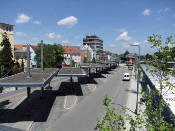 Bahnhof Memmingen. Hier verabschieden sich Samir und Philipp voneinander. (Foto: Thomas Mirtsch, Wikimedia Commons, CC 3.0 Unported)