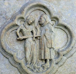 Eingangsbereich der Kathedrale von Amiens Foto: hinsehen.net