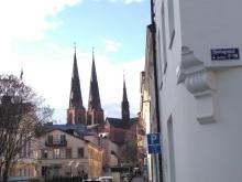 Domkyrkan - der Dom zu Uppsala. Foto: M. Schmidt