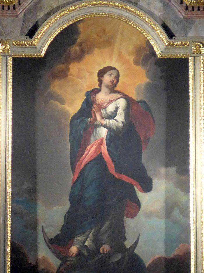 Aufnahme Mariens in den Himmel Wallfahrtskirche Marienthal Foto: hinsehen.net