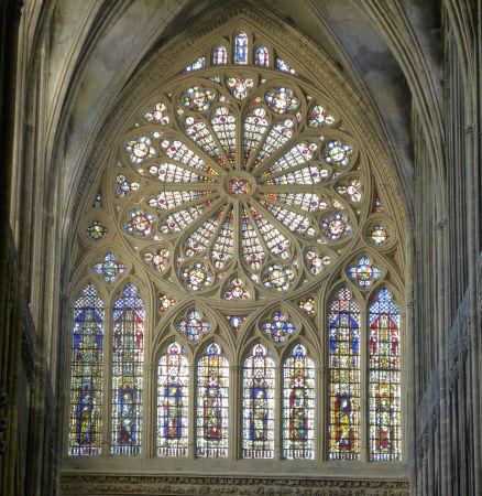 Rosette in der Kathedrale von Metz-der 8. Tag, Foto: explizit.net