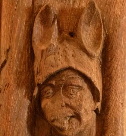 Der Narr mit Eselsohren. Foto: hinsehen.net
